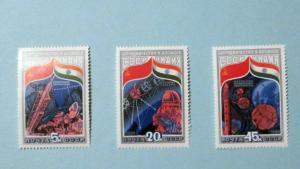 Russia - 5241-3, MNH Set. Intercosmos Program. SCV - $1.70