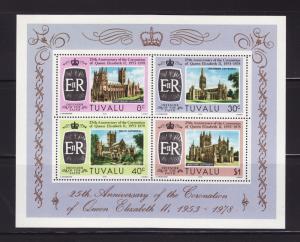 Tuvalu 84a Set MNH Cathedrals (E)