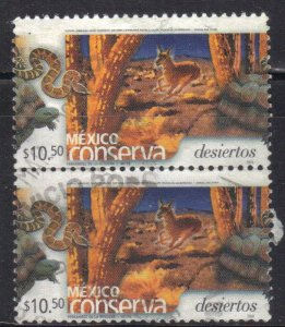 MEXICO  SC# 2375 **USED** PAIR  10.50p  2004      SEE SCAN