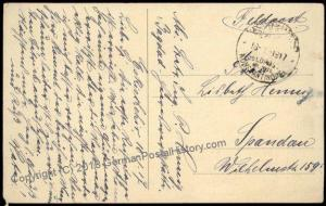 Germany 1917 WWI BAGHDAD Iraq Constantinople Turkey Military Mission Cover 82866