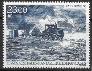 FRENCH SOUTHERN & ANTARCTIC TERRITORIES SG358 1996 TRACTOR & CAMP MNH