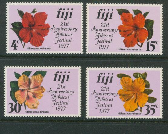 Fiji SG 541 - 544 MUH set