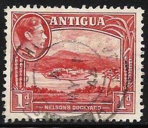 Antigua 1938 Scott# 85 Used (perfs)