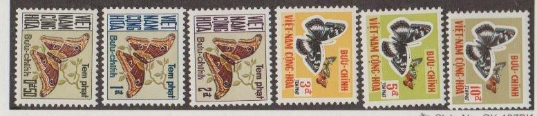 Viet Nam Scott #J15-J20 Stamps - Mint Set
