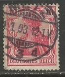GERMANY 68 VFU GERMANIA R995-1