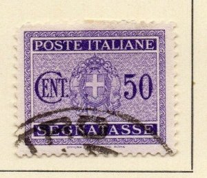 Italy 1934 Early Issue Fine Used 50c. 124008