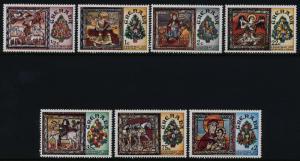 Grenada 813-20 MNH Christmas, Paintings, St Martin's Church