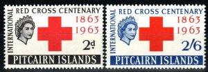 Pitcairn Islands #36-7  MNH  CV $6.50 (X9705)