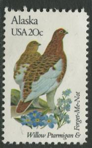 USA - Scott 1954 - State Birds & Flowers - 1982 - MNG - Single 20c Stamp
