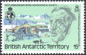 British Antarctic Territory # 79 mnh ~ 15p William Goodenough, Explorer