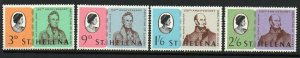 ST.HELENA SG222/5 1968 150TH ANNIV. OF THE ABOLITION OF SLAVERY MNH