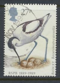 Great Britain SG 1420  Used   - RSPCB  Birds