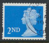 Great Britain SG 1976  SC# MH294 Machin 2nd class Blue  Used