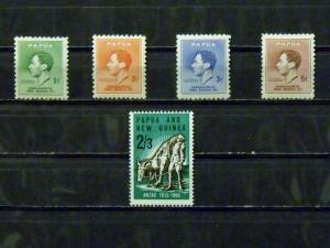 2792   Papua   MH, VF   # 118, 119, 120, 121, 203            CV$ 2.35