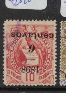 Guatemala SC 82 Inverted Surcharge VFU (8dqn)