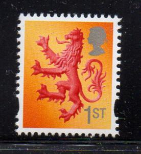 Great Britain Scotland Sc 21 2003 1st Lion stamp mint NH