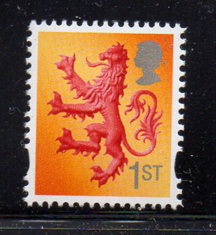 Great Britain Scotland Sc 21 2003 1st Lion stamp mint NH