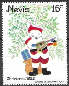 Nevis 15c Christmas issue of 1982, Scott 159 MNH