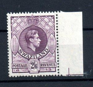 Swaziland 1943 2s 6d violet MNH SG#36A WS16512