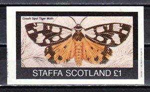 Staffa Local. 1982 issue. Tiger Moth s/sheet.  ^