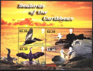 Montserrat 2005 Sea Birds Sheet MNH