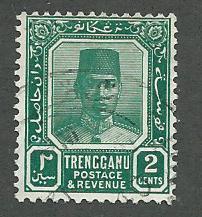 Malaya-Trengganu  Scott 21  Used