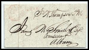GOLDPATH: US STAMPLESS COVER 1831, GRANVILLE, N.Y.      W/LETTER  _CV58_P12