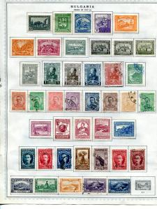 Bulgaria Collection  Mint and Used F-VF   -  Lakeshore Philatelics