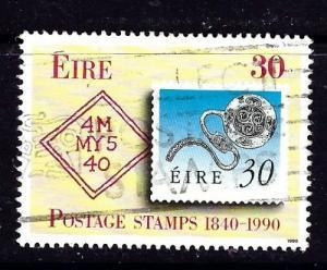 Ireland 803 Used 1990 stamp on stamp