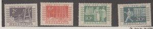 Netherlands Scott #332-335 Stamps - Mint Set