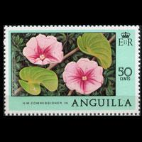 ANGUILLA 1978 - Scott# 286 Flower 50c NH