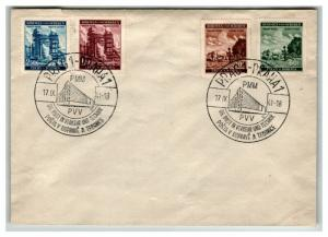Bohemia Moravia SC# 56 - 59 On PVV Event Cover (See Notes) - Z13847