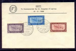 EGYPT- 1938 Leprosy Research Congress FDC
