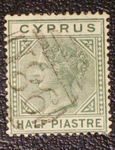 Cyprus Scott #19a used