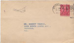 United States Ships 2c Arbor Day 1932 U.S.S. Melville Type 8 American Flag Ty...