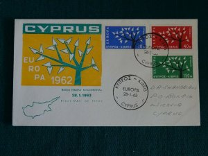 Cyprus 1963 Europa issue Unoficial FDC. (B)