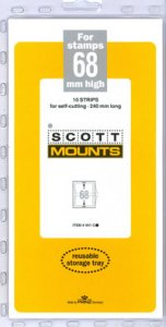 Scott Mount 68 x 240 mm  (Scott 941 Clear)
