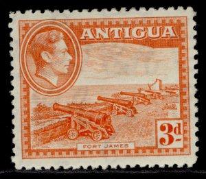 ANTIGUA GVI SG103, 3d orange, M MINT.