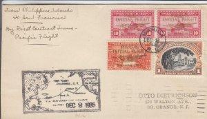 1935, Manila, Philippines to San Francisco, CA, See Remark (13820)