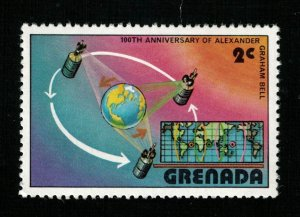 Space 1976 The 100th Anniversary of the First Telephone, Grenada 2c (TS-536)