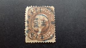 United States 19th Century United States 1861 5c Jefferson -