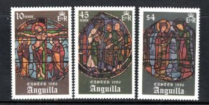 ANGUILLA  MNH VF Stained glass windows
