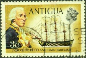 Antigua #244   Used