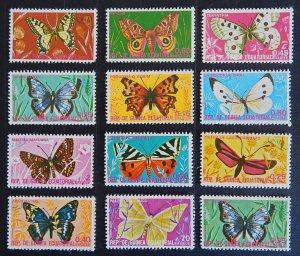 Butterflies, Equatorial Guinea, (2328-T)