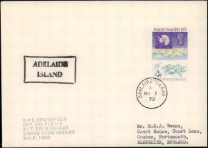 British Antarctic Territory #125, Antarctic Cachet and/or Cancel