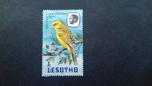 Lesotho 1982 Birds Used