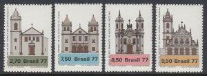 Brazil 1545-8 Architecture  mnh