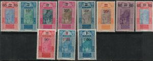 French Guinea 1924-1927 SC 106-115 Mint/MNH SCV $68.00 Set