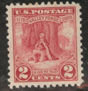 USA Scott 645 MNH** 1928 Valley Forge stamp