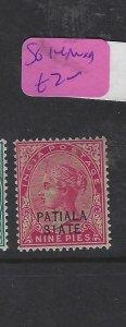 INDIA PATIALA (P3004B)   QV  9P      SG 14   MOG